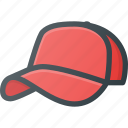 basebal, cap, hat icon