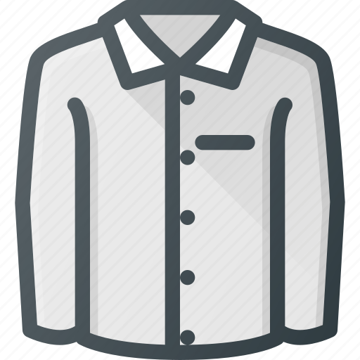 business, full, shirt icon