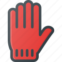 corl, glove, winter icon