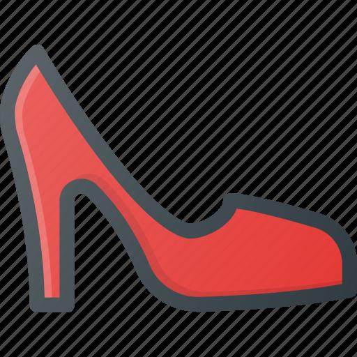 heel, heels, high, higheels, shoe icon