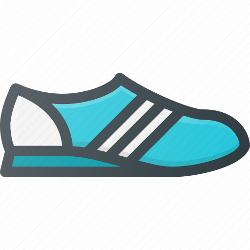 running, shoe, sport icon