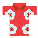 garment, clothing, clothes, cloth, shirt, hawaiian, hawaii