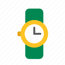 accessory, adornment, clock, clothing, watch, wristwatch icon