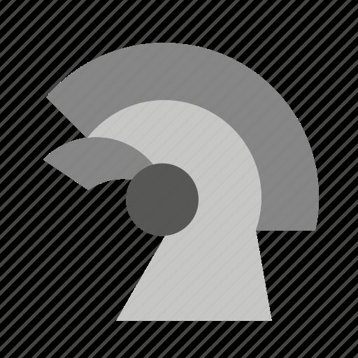 cap, hat, helmet, phrygian, roman, soldier, spartan icon