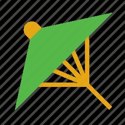 accessory, adornment, chinese, clothing, japanese, parasol, umbrella icon