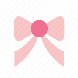 accessory, adornment, bow, clothing, decoration, pink icon