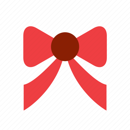 accessory, adornment, bow, clothing, decoration, red icon