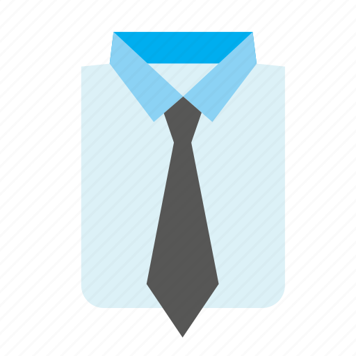 accessory, cloth, clothes, clothing, shirt, suit, tie icon