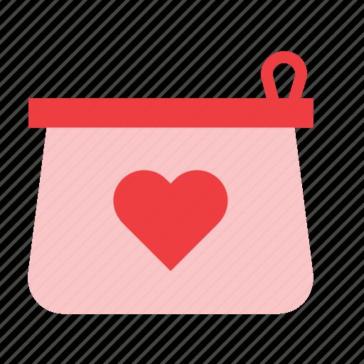 accessory, bag, case, clothing, kit, toilet, vanity icon