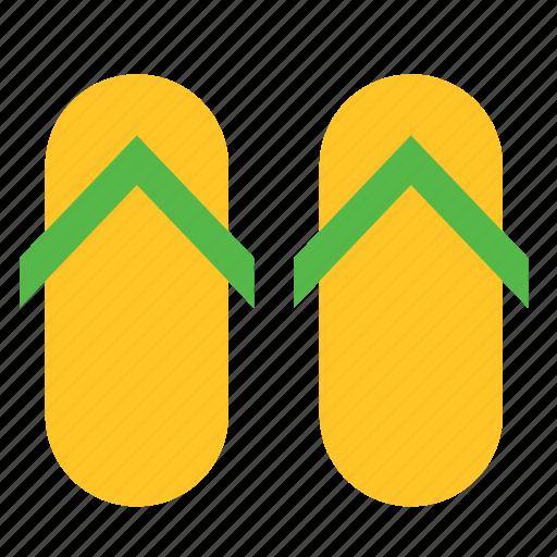 accessory, clothing, flip flop, flip-flop, sandal, shoe, shoes icon