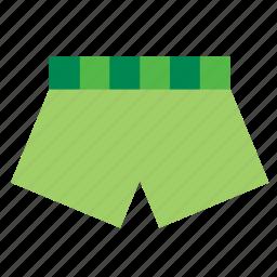 boxer, clothes, clothing, garment, swimsuit, underwaer icon