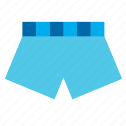 boxer, clothes, clothing, garment, swimsuit, underwear icon