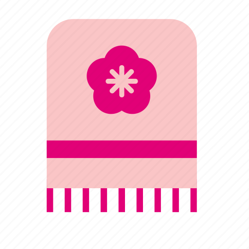 accessory, adornment, clothing, towel icon