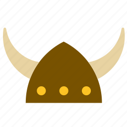 accessory, adornment, clothing, hat, helmet, horns, viking icon