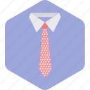 business, fashion, necktie, shirt, style, tie icon