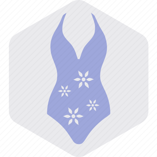 clothes, dress, swimming, wear, woman icon