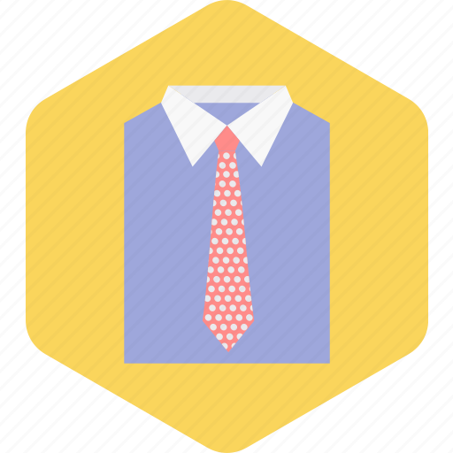 dress, fashion, man, necktie, shirt, tie icon