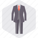 businessman, coat, dress, necktie, office, pant icon