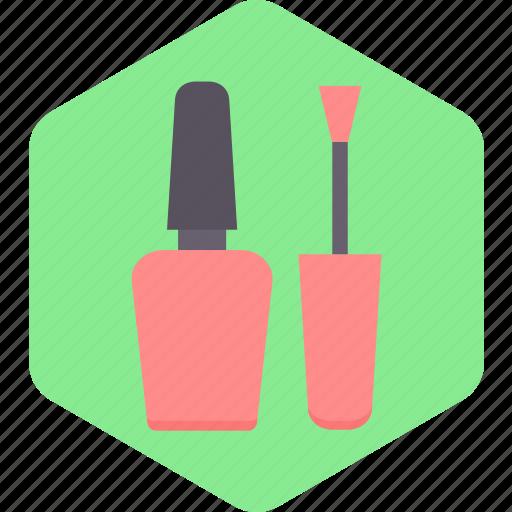 beauty, colour, cosmetics, hand, nail, polish icon