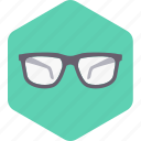eye, eyeglasses, glasses, shades, spectacles, sunglasses icon