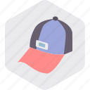 cap, fashion, hat, man, wear icon