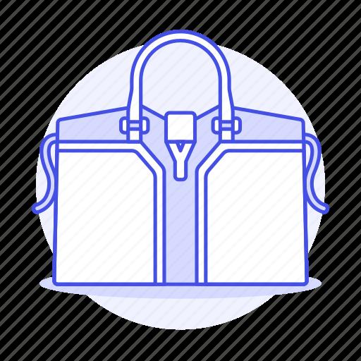 accessory, bags, blue, clothes, designer, handbag, light, purse, small icon