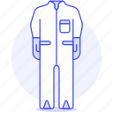 accessory, clothes, garment, jumpsuit, onesie icon