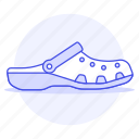 1, accessory, clothes, crocs, footwear, pink, sandals, shoes icon