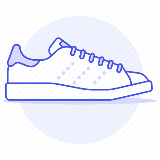 accessory, clothes, footwear, shoes, sneakers, white icon