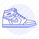 accessory, basketball, clothes, footwear, nike, shoes, sneakers, white icon
