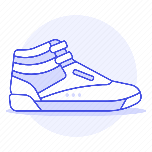 accessory, basketball, clothes, cyan, footwear, shoes, sneakers icon