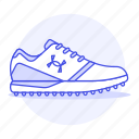 accessory, armour, clothes, footwear, shoes, sneakers, under, white icon
