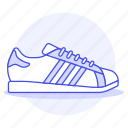 accessory, adidas, black, clothes, footwear, shoes, sneakers icon