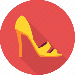 fashion, footwear, heel, heels, lady heels, sandal, slipper icon