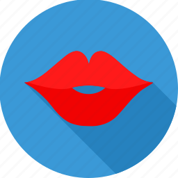 glamour, kiss, lips, love, romance, romantic, valentines icon