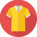 clothes, man, party wear, partywear, shirt, tshirt, yellow icon
