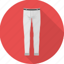 lower, pant, clothing, man, trousers, fashion, wear icon
