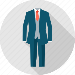 business, clothing, cothes, man, office, professional, suit icon