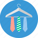 hanger, business, office, professional, tie, dress, formal icon