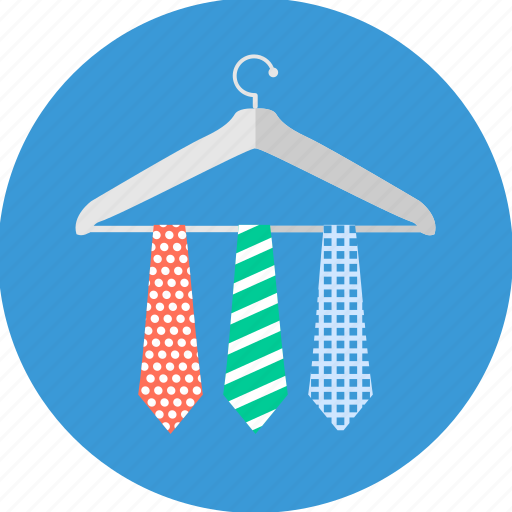 business, dress, formal, hanger, office, professional, tie icon