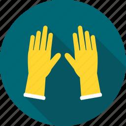 finger, glove, gloves, hand, man, men, woollen icon