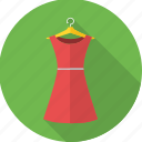 casual, clothes, clothing, dress, gown, tunic, woman icon