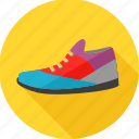 colorful, footwear, man, men, running, shoe, shoes icon