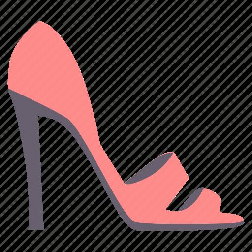 female, footwear, ladies, sandle icon