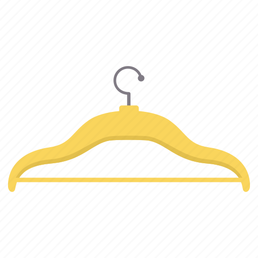 clothes, clothing, hanger icon
