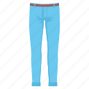 jean, jeans, lower, man, pant, pants icon