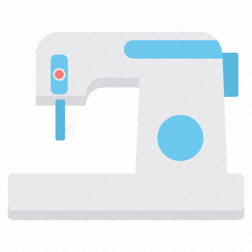 clothes, machine, sewing, stiching icon