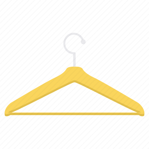 cloth, clothing, hanger icon