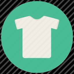 clothes, laundry, shirt, top, tshirt, white tshirt icon