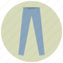 blue, blue jeans, clothes, fashion, jeans, long pants, pants icon
